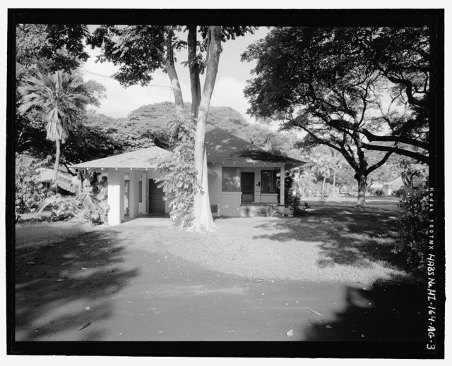 Hickam Field, NCO Housing Type 3, 213 Tenth Street, Honolulu, Honolulu County, HI