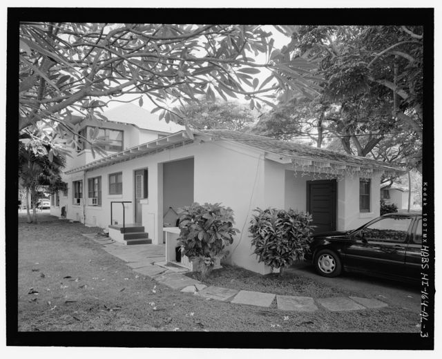 Hickam Field, NCO Housing Type 5, 206 Tenth Street, Honolulu, Honolulu County, HI