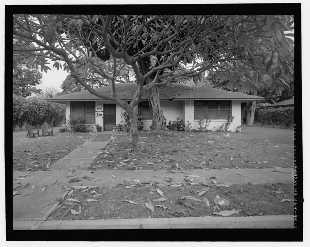 Hickam Field, NCO Housing Type 7, 210 Eleventh Street, Honolulu, Honolulu County, HI