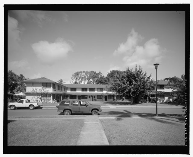 Hickam Field, NCO Housing Type 8, 212E Thirteenth Street, Honolulu, Honolulu County, HI