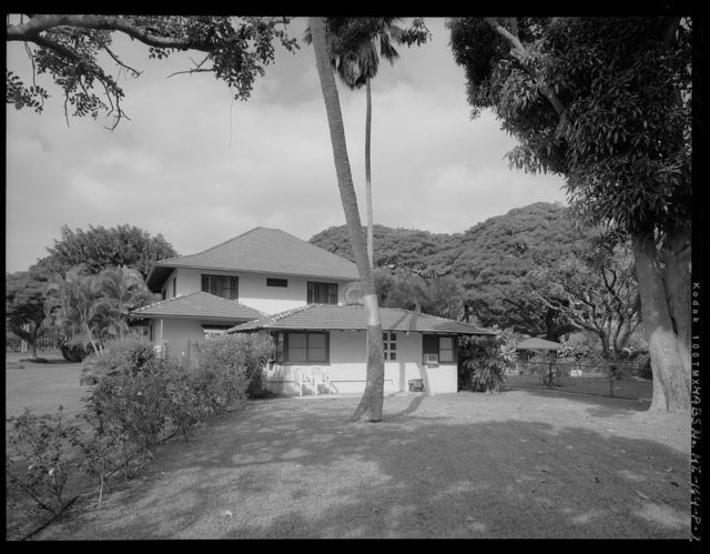 Hickam Field, Officers' Housing Type A, 601 Boquet Boulevard, Honolulu, Honolulu County, HI