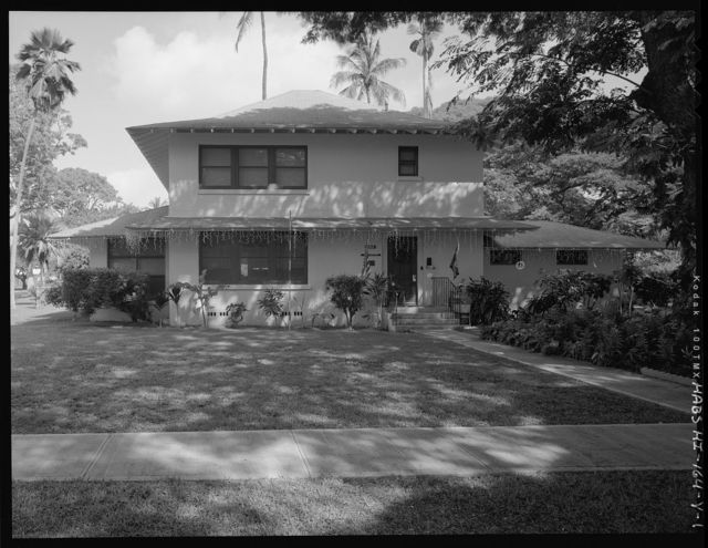 Hickam Field, Officers' Housing Type K, 304 Sixth Street, Honolulu, Honolulu County, HI