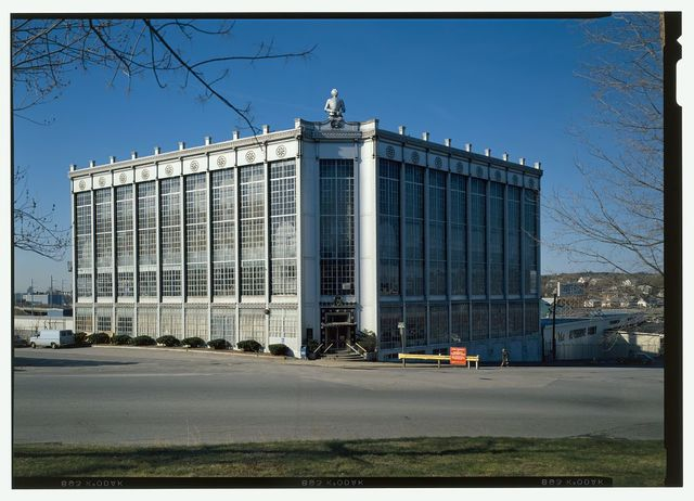 Higgins Armory, 100 Barber Avenue, Worcester, Worcester County, MA