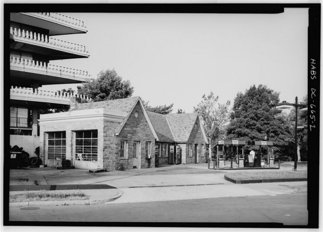 Higgins Service Station, 2708 Virginia Avenue, Northwest, Washington, District of Columbia, DC