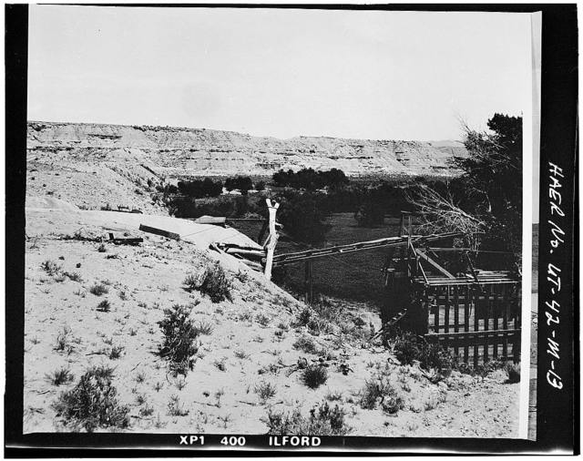 High Mountain Dams in Upalco Unit, Twin Pots Dam, Ashley National Forest, 10.1 miles North of Mountain Home, Mountain Home, Duchesne County, UT