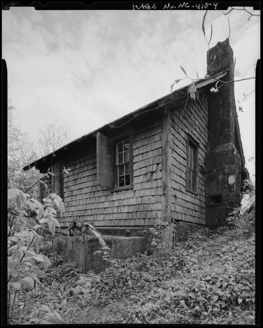 High Rocks Lookout Tower Guard House, Cherokee, Swain County, NC