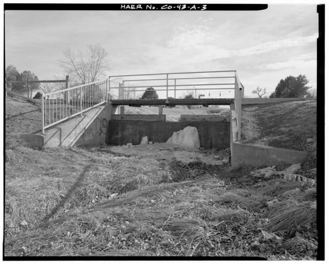 Highline Canal, Sand Creek Lateral, Beginning at intersection of Peoria Street & Highline Canal in Arapahoe County (City of Aurora), Sand Creek lateral Extends 15 miles Northerly through Araphoe County, City & County of Denver, & Adams County to its end point, approximately 1/4 mile Southest of intersectioin of D Street & Ninth Avenue in Adams County (Rocky Mountain Arsenal, Commerce City Vicinity), Commerce City, Adams County, CO