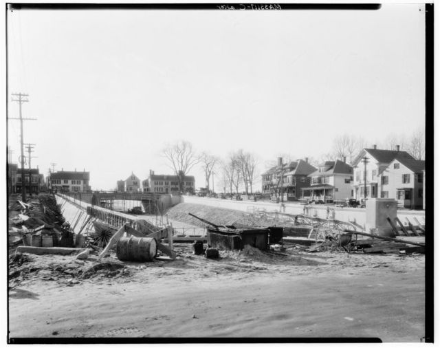 Highway Cut-off Demolition Area, Summer, Winter, High & Merrimac Streets, Newburyport, Essex County, MA