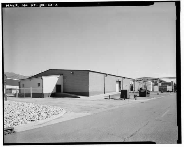 Hill Field, Aircraft Accessory Repair Shop, 5925 Southgate Avenue, Layton, Davis County, UT
