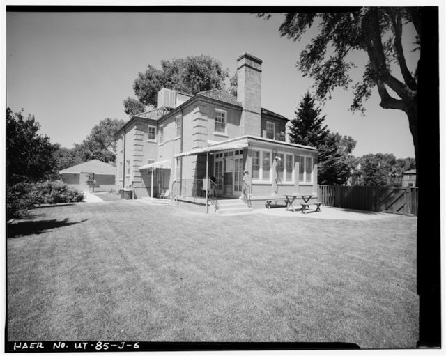 Hill Field, Field Officers' Quarters, South side of Fourth Street, Layton, Davis County, UT