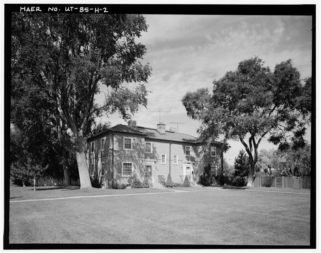 Hill Field, Non-Commissioned Officers' Quarters, North side of Fourth street, East side of E Avenue, Layton, Davis County, UT