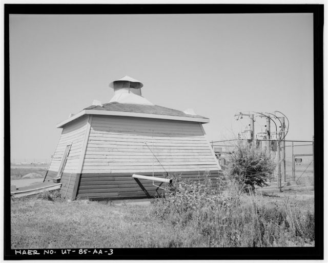 Hill Field, Pumphouse & Well No. 4, East side of Foulois Road, North of Golf Course Drive, Layton, Davis County, UT