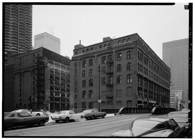 Hiram Sibley Warehouse, 315-331 North Clark Street, Chicago, Cook County, IL