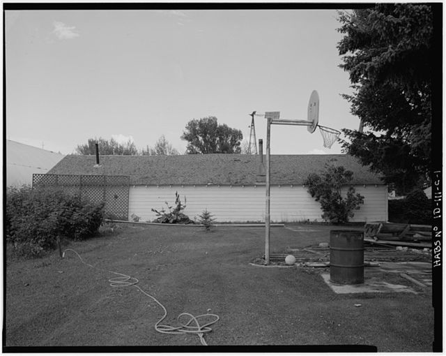 Hjelm Farmstead, Implement Shed No. 1, U.S. Highway 20 at New Sweden, Idaho Falls, Bonneville County, ID