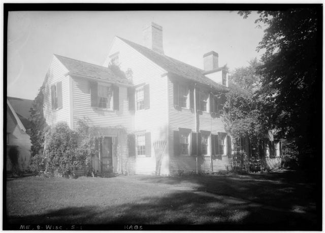 Hodge House, Hodge Street & Route 1, Wiscasset, Lincoln County, ME