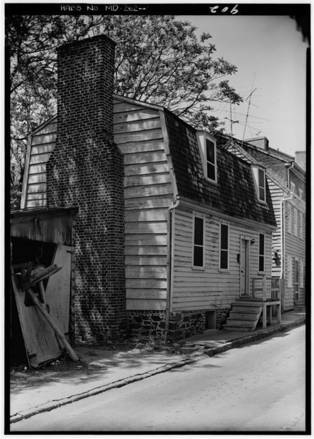 Holland-Hohne House, 45 Fleet Street, Annapolis, Anne Arundel County, MD