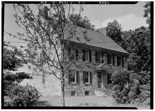 Holloway House, Stafford Road (State Route 161), Darlington, Harford County, MD