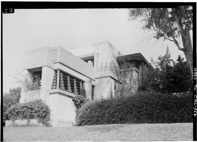 Hollyhock House, 4800 Hollywood Boulevard, Los Angeles, Los Angeles County, CA