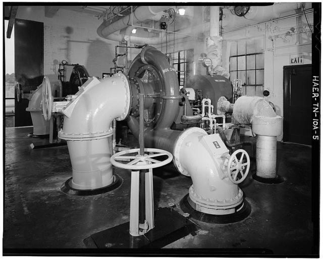 Holston Army Ammunition Plant, Producer Gas Plant, Kingsport, Sullivan County, TN