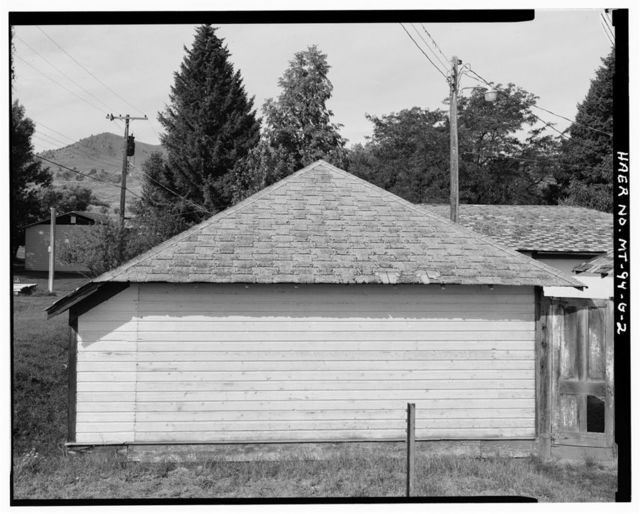 Holter Hydroelectric Facility, Four-Car Garage, End of Holter Dam Road, Wolf Creek, Lewis and Clark County, MT
