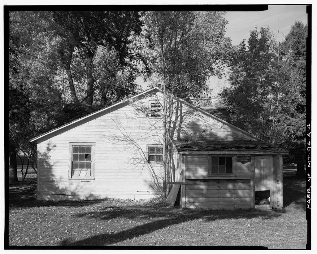 Holter Hydroelectric Facility, House No. 8, End of Holter Dam Road, Wolf Creek, Lewis and Clark County, MT