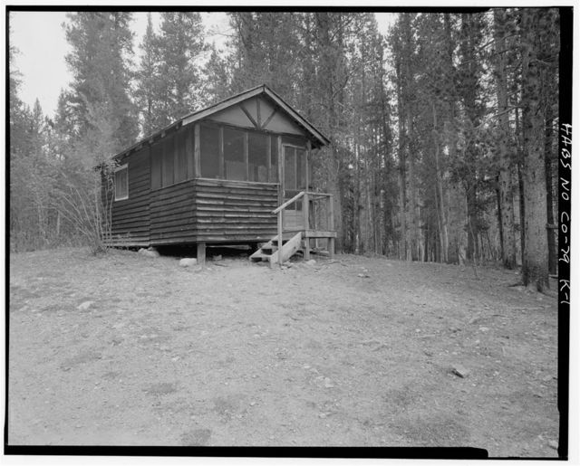 Holzwarth Trout Lodge, The Castle Cabin, Trail Ridge Road, Grand Lake, Grand County, CO