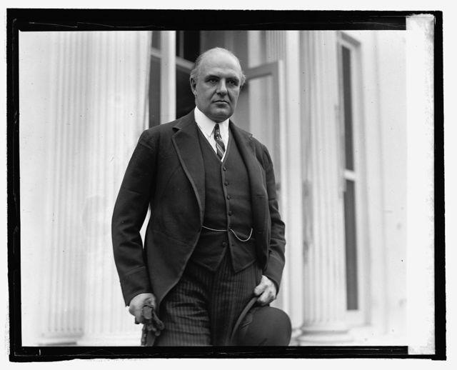 Hon. Lewis Einstein, U.S. Minister to Checho Slovakia at W.H., 10/28/24
