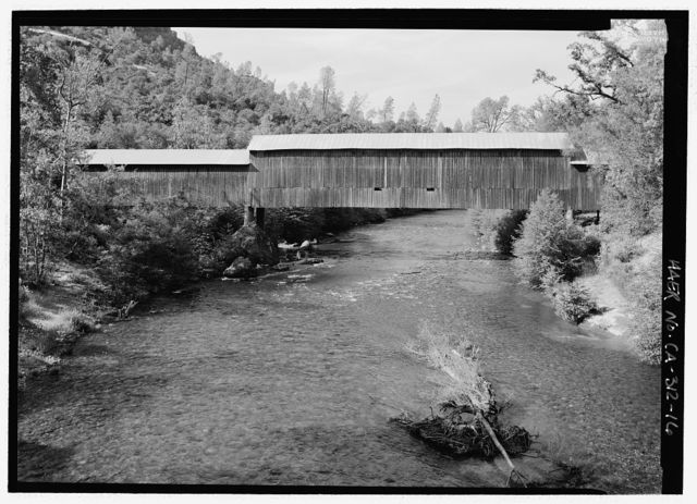 Honey Run Bridge, Spanning Butte Creek, bypassed section of Honey Run Road (originally Carr Hill Road), Paradise, Butte County, CA