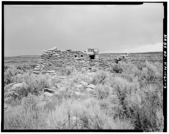 Hooded Fireplace Pueblito, On a northern point of Superior Mesa about 700 meters west of Largo Canyon Wash, Dulce, Rio Arriba County, NM