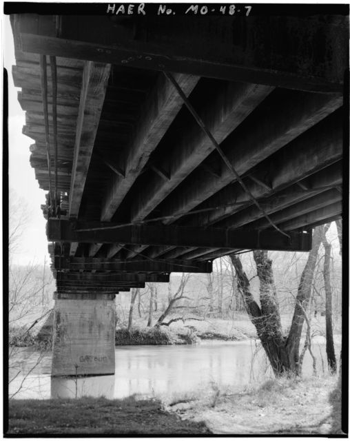Hootentown Bridge, County Route 133, Spanning James River, Jamesville, Stone County, MO