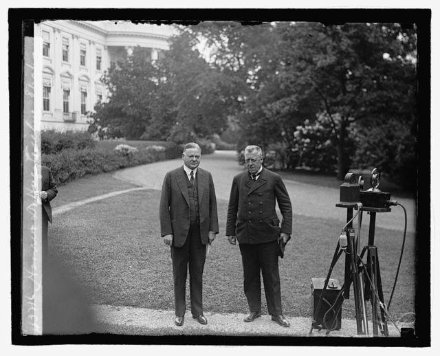 Hoover & Dr. Hugo Eichner, 8/29/29
