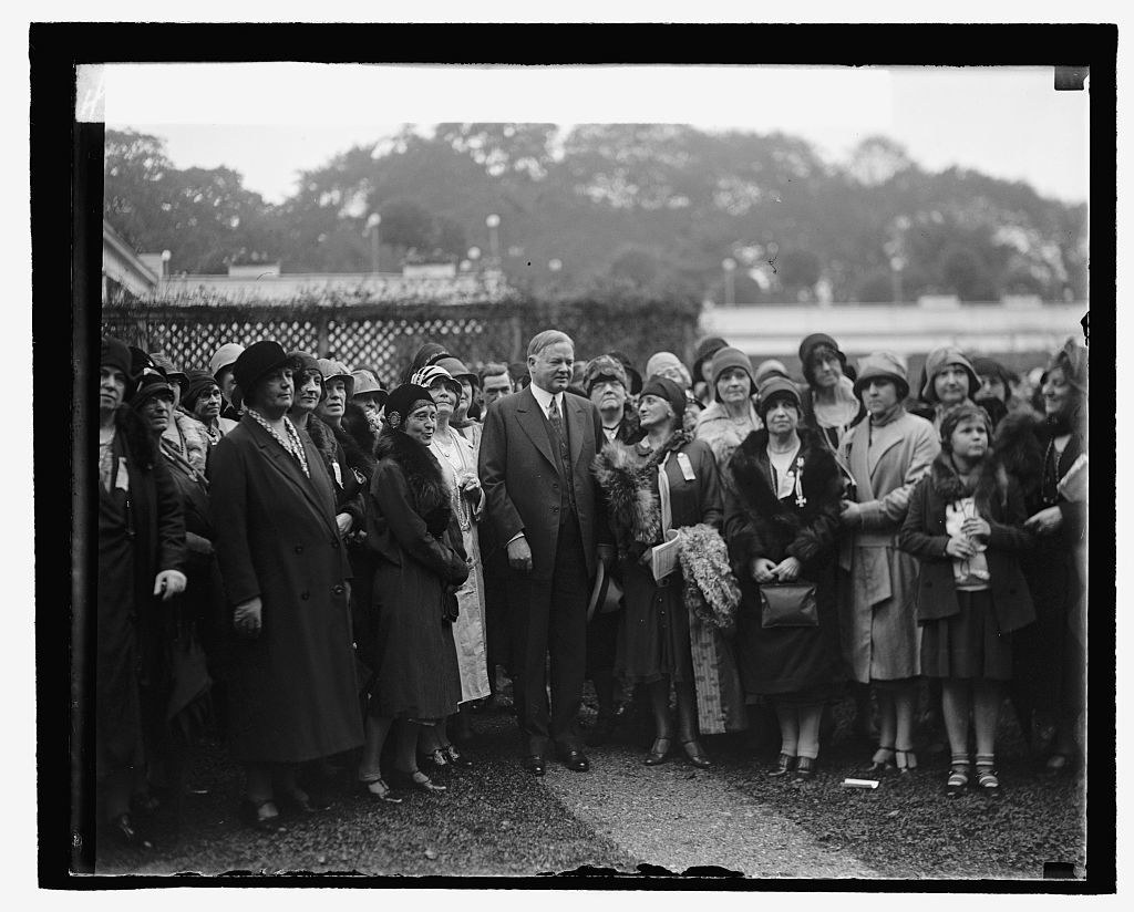 Hoover & National Council of Catholic Women, 10/3/29