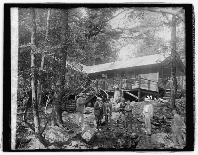 Hoover camp on the Rapidan, 8/17/29