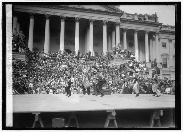 Hopi snake dance at Capitol, [Washington, D.C.], 5/15/26
