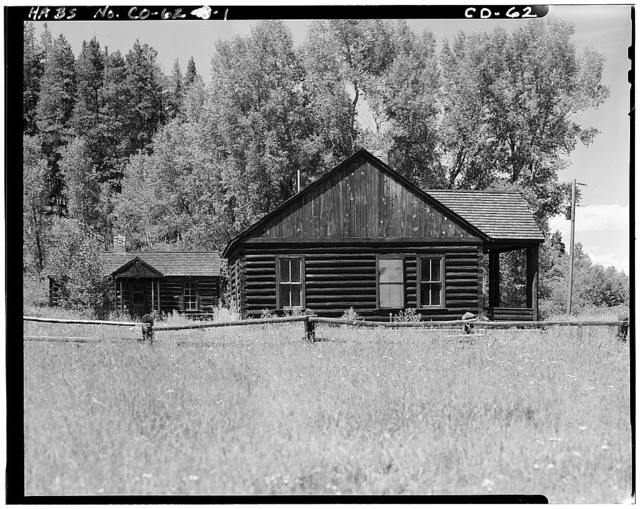 Horseshoe Ranger Station, 15 miles South of Parshall, Parshall, Grand County, CO
