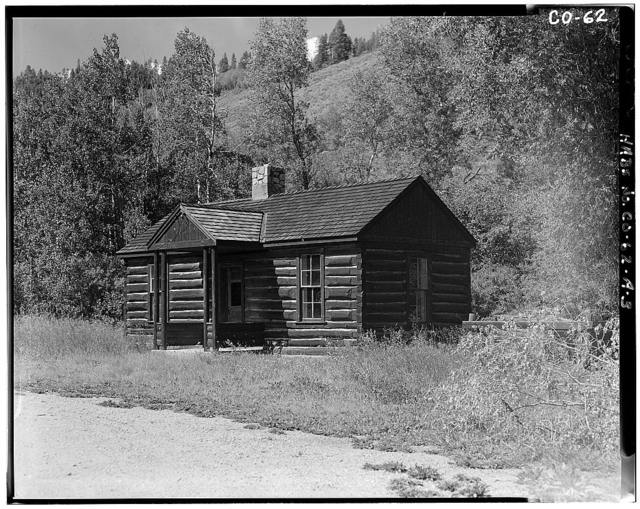 Horseshoe Ranger Station, Building A, 15 miles South of Parshall, Parshall, Grand County, CO