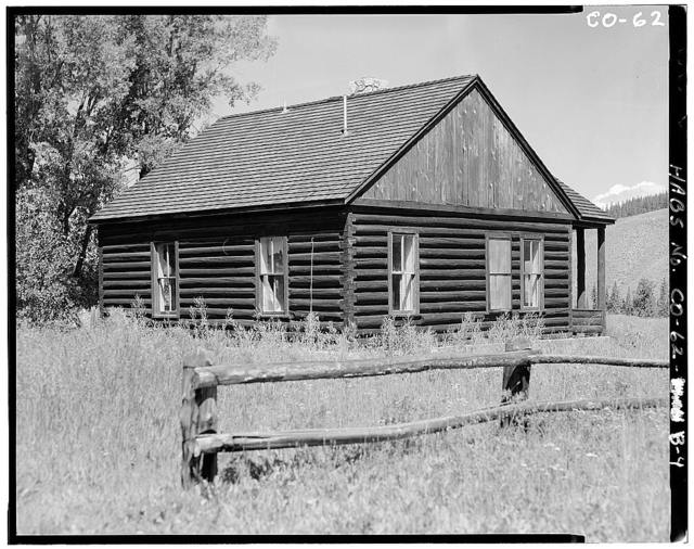 Horseshoe Ranger Station, Building B, 15 miles South of Parshall, Parshall, Grand County, CO