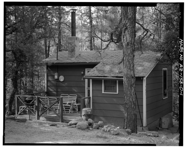 Horsethief Basin Resort, Cabin No. 4, 7 miles Southeast of Crown King, Crown King, Yavapai County, AZ