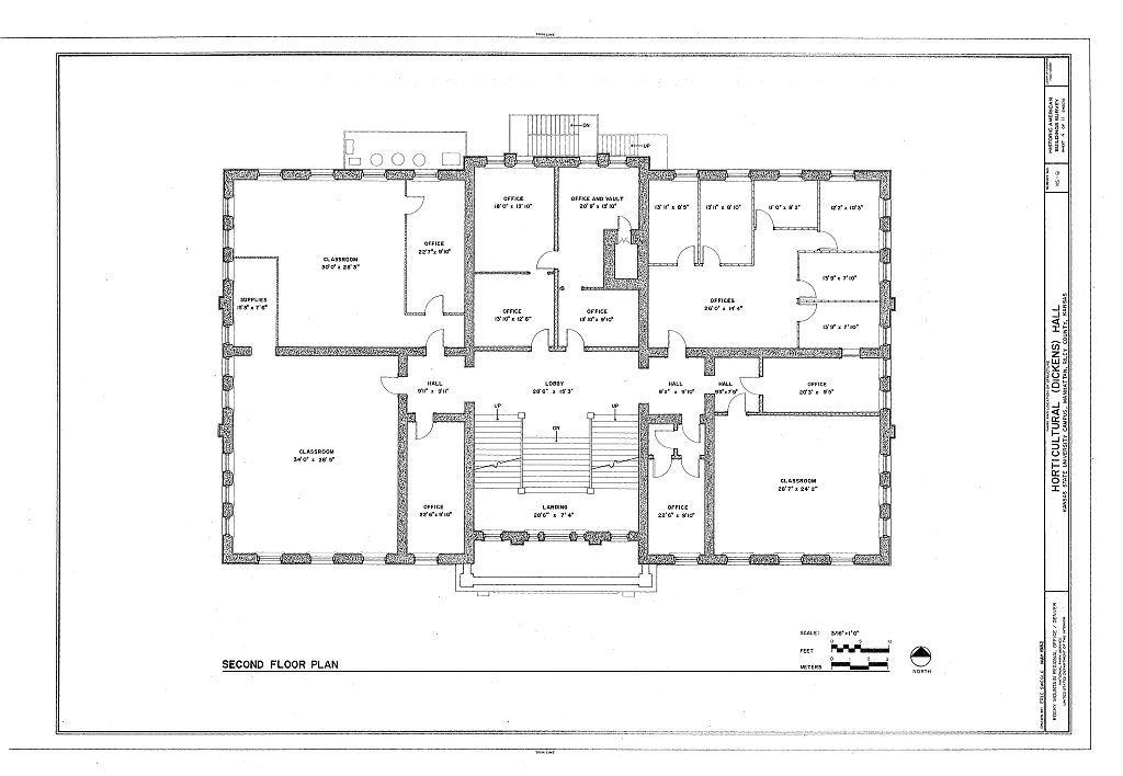 Horticultural Hall, Kansas State University Campus, Manhattan, Riley County, KS
