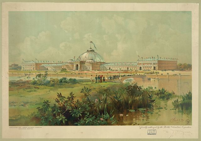 Horticultural hall, World's Columbian Exposition