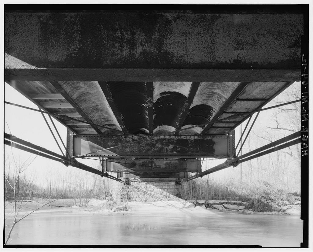 Horton Road Bridge, Spanning Black Creek, Adrian, Lenawee County, MI