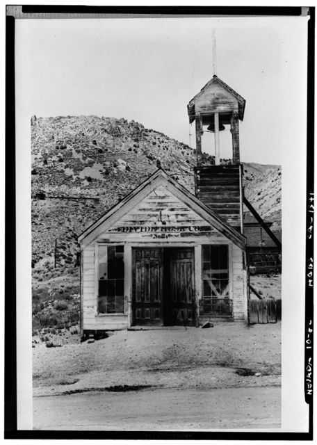 Hose House, Virginia City, Storey County, NV