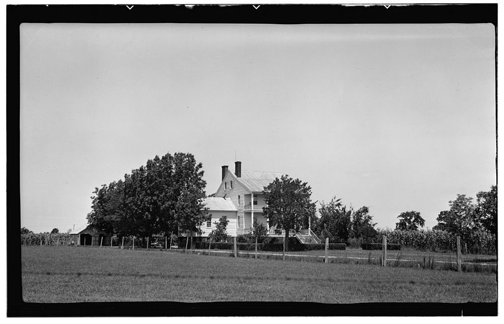 Hoskins Place, U.S. Route 17 (moved to Locust Grove Road vicinity, Somerset vicinity), Edenton, Chowan County, NC