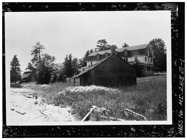 Hotel Williams, Log Building No. 4, Murray Bay, Munising, Alger County, MI