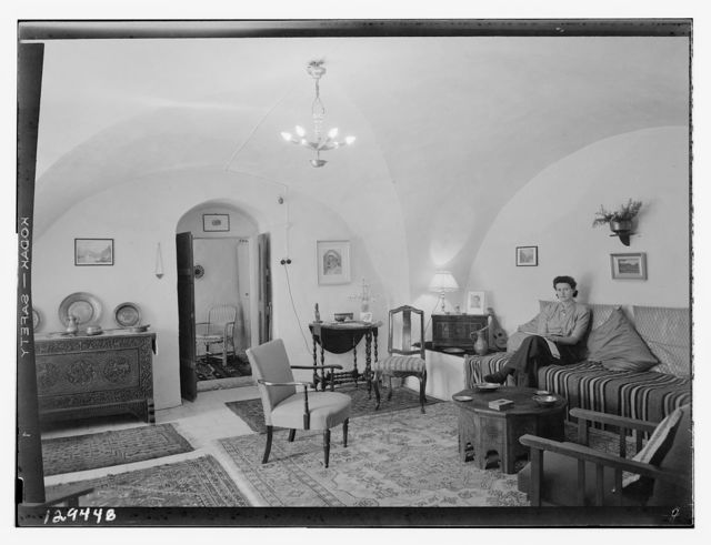 House & rooms of Mrs. Lang, German Colony, Mar. 2, '44