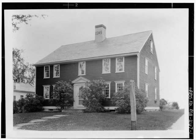 House of 1763, Templeton, Worcester County, MA