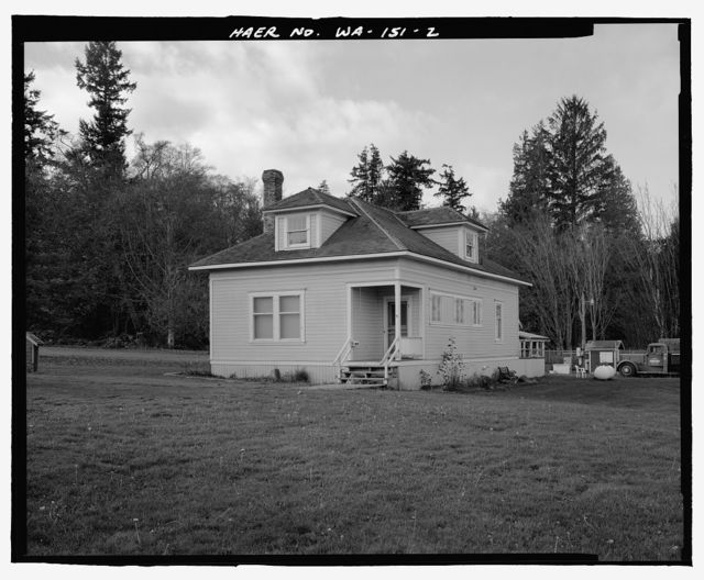 Houses Moved from Port Ludlow, Various Addresses (moved from Port Ludlow, WA), Port Gamble, Kitsap County, WA
