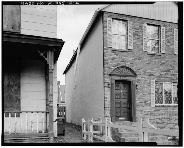 Howard Road Historic District, Samuel H. Lucas House No. 3, 1014 Howard Road, Washington, District of Columbia, DC