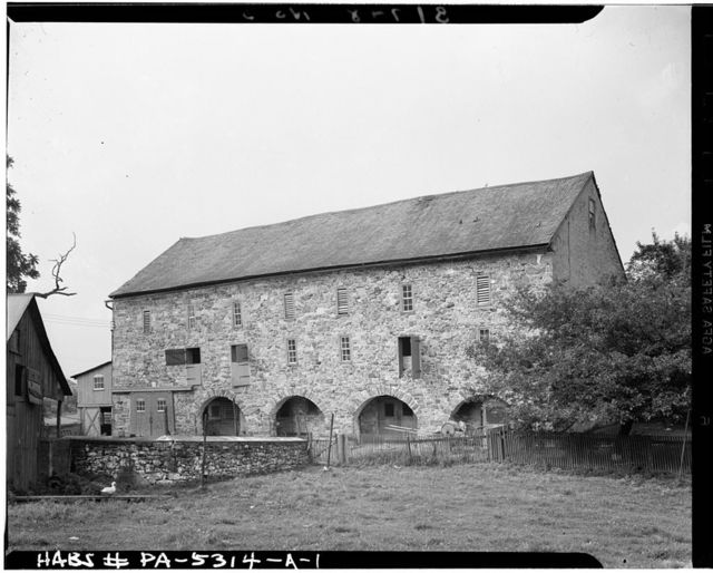 Howard W. Wenner Barn A, State Route 29 vicinity, Emmaus, Lehigh County, PA