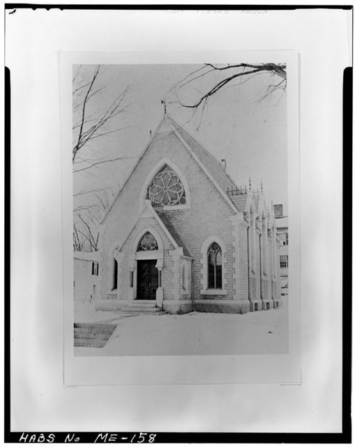 Hubbard Free Library, 115 Second Street, Hallowell, Kennebec County, ME